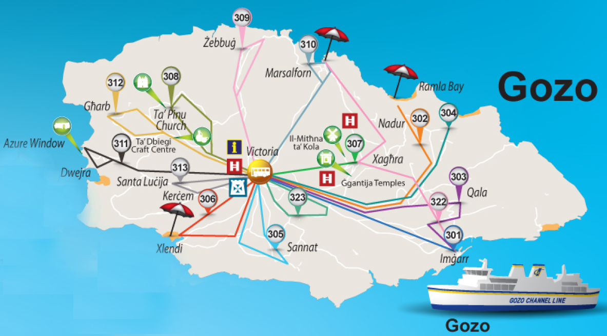 Bus Schedule Gozo Tourism Association